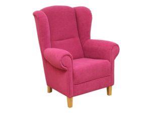 Fotel uszak Anna tkanina Astoria