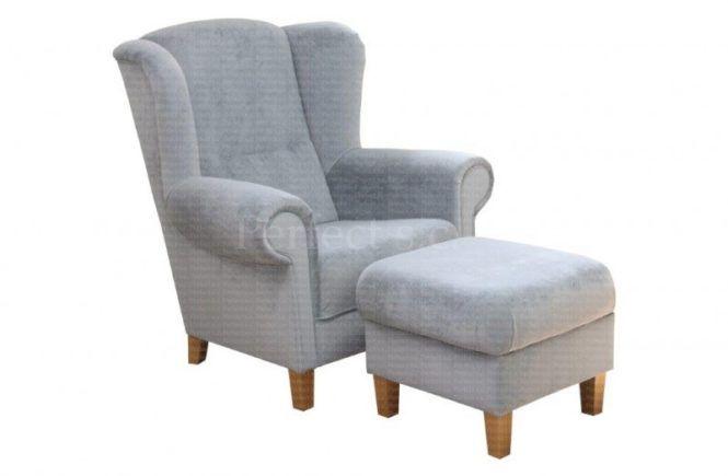 Fotel uszak tapicerowany Anna