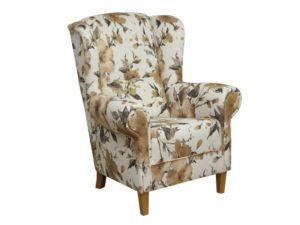 Fotel uszak tapicerowany Anna tkanina marakesz